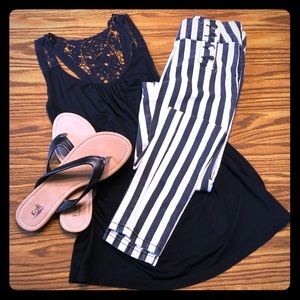 Striped sailor jeans - Forever 21